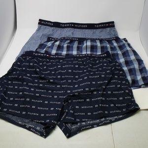 Tommy Hilfiger Men's Cotton 3 Pack Slim Fit Boxers